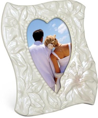 Adore, Lily Photo Frame Heart-Shaped   -