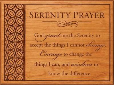 Serenity Prayer Wall Art serenity prayer wall art - christianbook