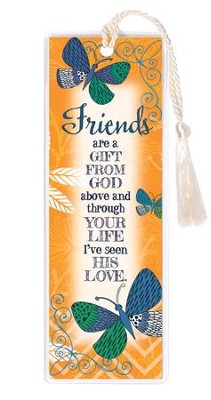 Friends Are A Gift From God Bookmark  -