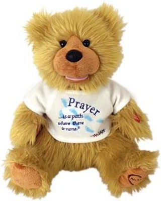 Plush Bear Prayer is a Path Where There is None  -