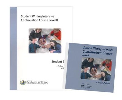 IEW Student Writing Intensive: Continuation Course, Level B 9 DVDs, 1 Student Packet  -