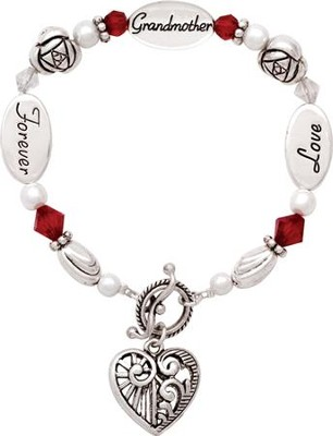 Love, Grandmother, Forever Bracelet  -