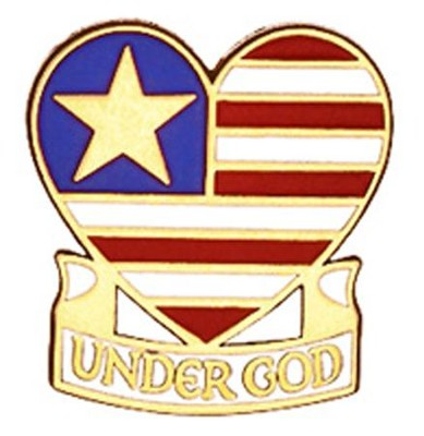 One Nation Under God Pin  -