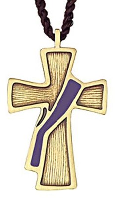 Deacon's Cross, Purple Sash  -