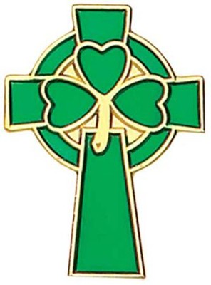 Celtic Clover Cross  -