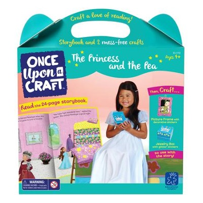 The Princess and the Pea Book and Craft Set  -