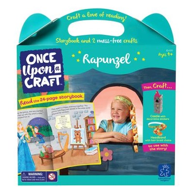 Rapunzel Book and Craft Set  -