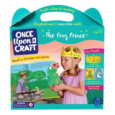 The Frog Prince Book and Craft Set  -