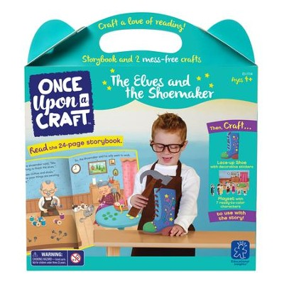 The Elves and the Shoemaker Book and Craft Set  -
