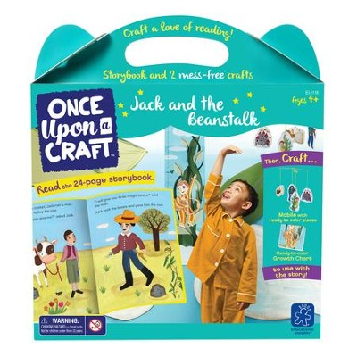 Jack and the Beanstalk Book and Craft Set  -