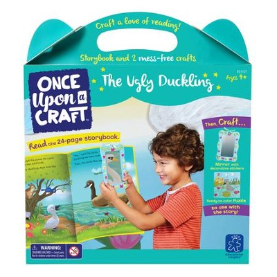 The Ugly Duckling Book and Craft Set  -