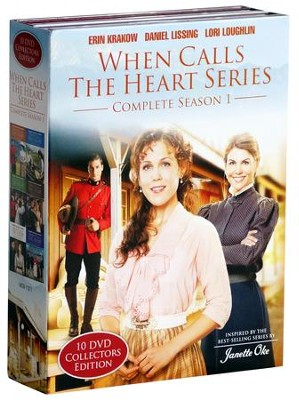 When Calls the Heart Series, Complete Season 1, 10 Disc Collector's Edition  -