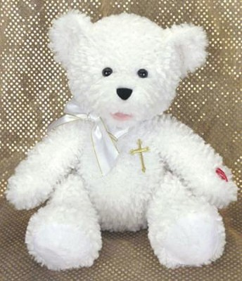 Plush Bear: Sings Jesus Loves Me   -
