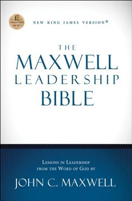 NKJV Maxwell Leadership Bible, Revised & Updated, Hardcover  -     By: John C. Maxwell