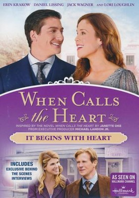 When Calls the Heart: It Begins With Heart, DVD   -