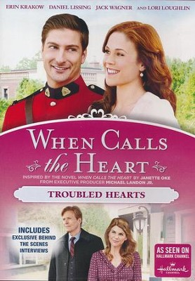 When Calls the Heart: Troubled Hearts, DVD   -