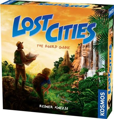Lost Cities Board Game  -
