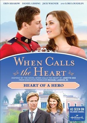 When Calls the Heart: Heart of a Hero, DVD   -
