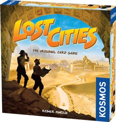 Lost Cities Card Game  -