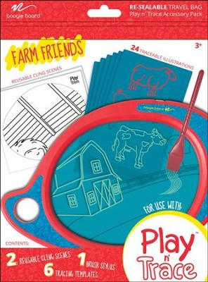 Boogie Board Play & Trace Activity Pack, Farm Animals  -