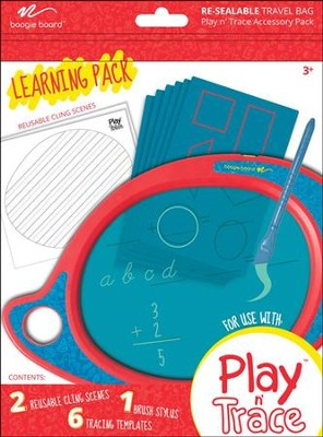 Boogie Board Play & Trace Activity Pack, Learning Pack  -