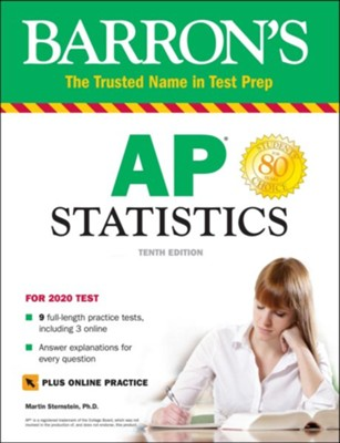 Barron's AP Statistics with Online Tests  -     By: Martin Sternstein