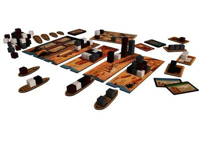 Imhotep Board Game  -