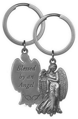 Blessed By An Angel, Angel Keyring  -