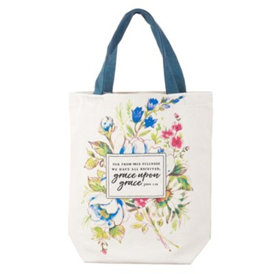 Grace Upon Grace Tote Bag  -