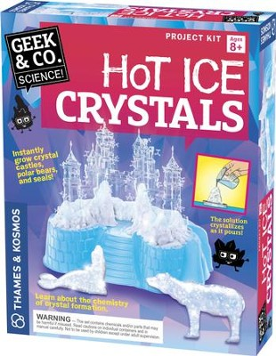 Hot Ice Crystals Kit  -