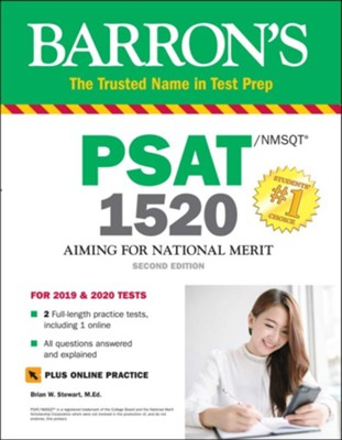 Barron's PSAT/NMSQT 1520 with Online Test  -     By: Brian W. Stewart