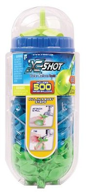 X Shot Water Balloons Refill, with 500 Balloons  -