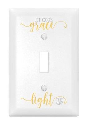 Let God's Grace Light the Way, Light Switch Cover  -
