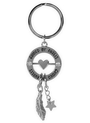 Guided By Angels, Spinner Keyring  -