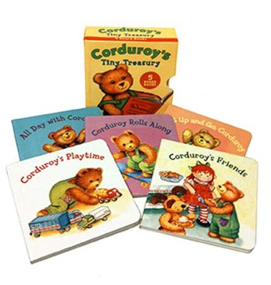 Corduroy's Tiny Treasury: Five Big Adventures; One Tiny Treasure  -     By: Don Freeman     Illustrated By: Lisa McCue