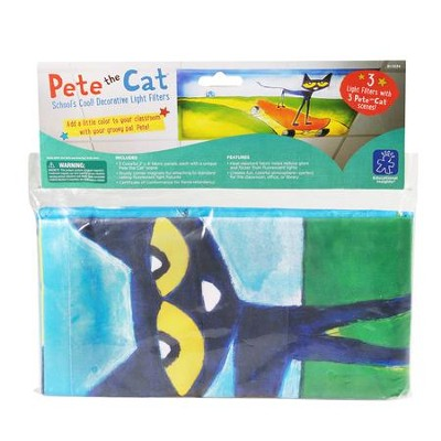 Pete the Cat School's Cool! Decorative Light Filters  -