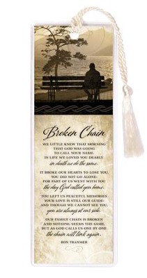 Broken Chain Bookmark  -