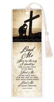 Lead Me Bookmark  -