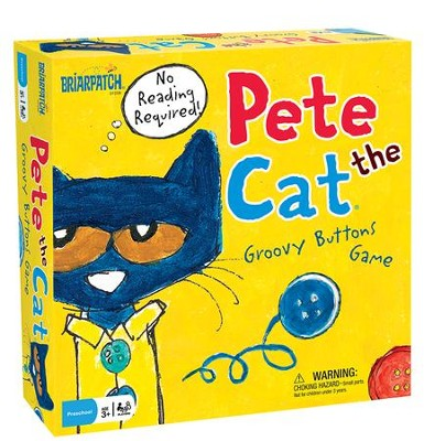 Pete the Cat Groovy Buttons Game  -