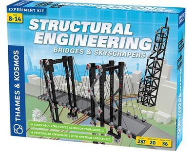Structural Engineering, Bridges and Skyscrapers, Kit  -