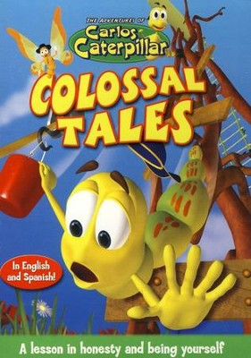 The Adventures of Carlos Caterpillar: Colossal Tales, DVD   -