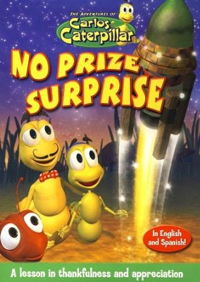 The Adventures of Carlos Caterpillar: No Prize Surprise, DVD   -