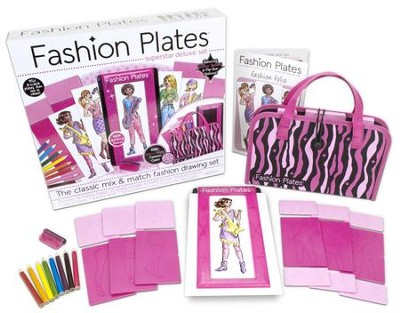 Fashion Plates, Superstar Deluxe Set  -