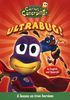 The Adventures of Carlos Caterpillar: Ultrabug! DVD   -