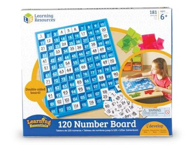 120 Numbers Board  -