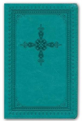 KJV Ultraslim Bible, Imitation Leather, Turquoise  -