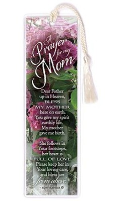 A Prayer for My Mom Bookmark  -
