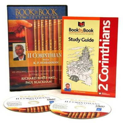 Book by Book: 2 Corinthians DVD and Study Guide   -