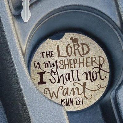 The Lord Is My Shepherd, Car Coaster  -