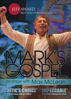 Mark's Gospel with Max McLean, New DVD Edition   -
